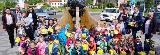 Polsko-niemieckie spotkanie dzieci w Zielonej Gόrze, 29.05.2019 r.