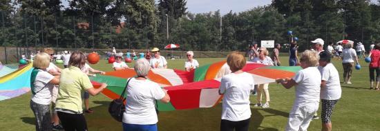 Polsko-niemieckie święto sportu dla seniorów w Cottbus, 19.06.2019 r.