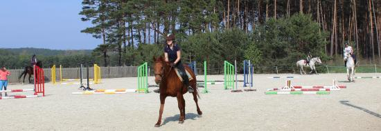 Polsko-niemieckie warsztaty jeździeckie w Przylepie, 23.-28.04.2019 r.