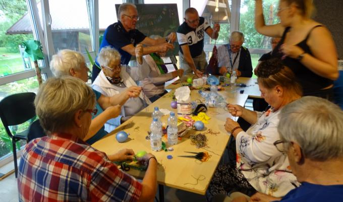 Warsztaty dla seniorów 24.08-02.09.2020