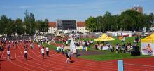 """Festyn Sportowy w Cottbus pt. """"Polsko-niemieckie gry dzieci i młodzieży""""  24.05.19 r."""