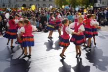 Polscy goście na Światowym Dniu Dziecka w Cottbus, 19.09.2019