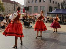 Zespół taneczny MAKI z Zielonej Góry na Światowym Dniu Dziecka w Cottbus